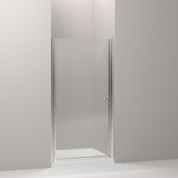 Fluence 30.25 x 65.5 Pivot Shower Door with CleanCoat® Technology by Kohler