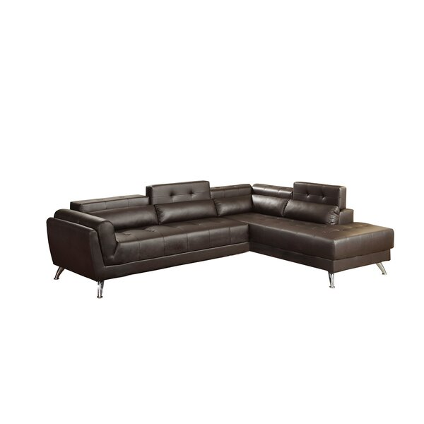 Mercuri Right Hand Facing Sectional By Orren Ellis