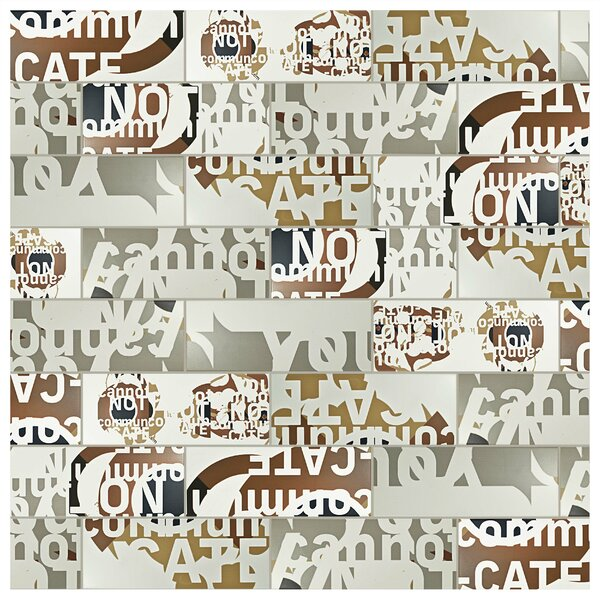 Graphique 6 x 15.75 Ceramic Field Tile in Beige by EliteTile