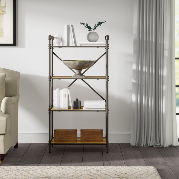 Christofor Industrial Etagere Bookcase by 17 Stories