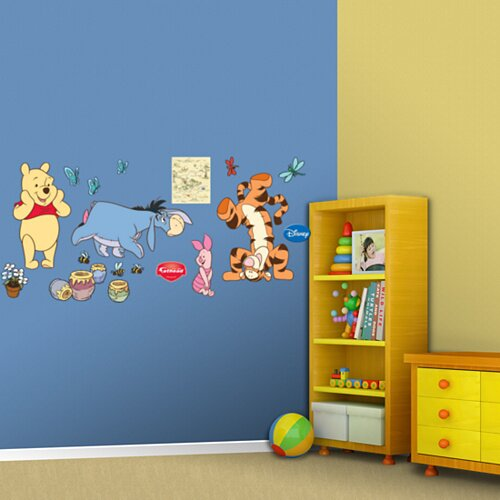 Winnie The Pooh and Friends Wall Decal by Fathead