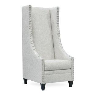 Bon Saige Tall Wingback Chair