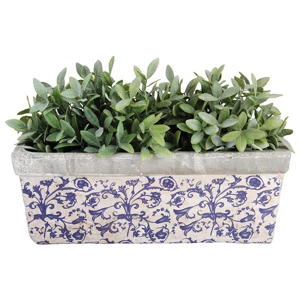 Balcony Ceramic Planter Box by EsschertDesign