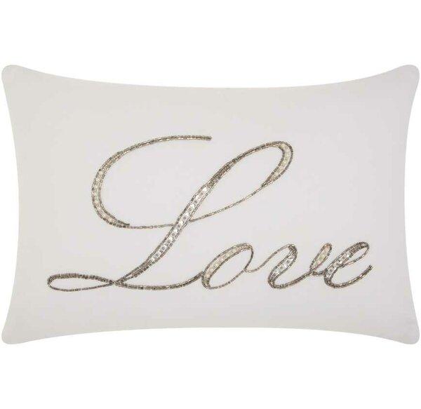Burcet Love Cotton Lumbar Pillow by Willa Arlo Interiors