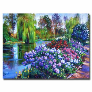 Promise of Spring by David Lloyd Glover Painting Print on Canvas by Trademark Fine Art