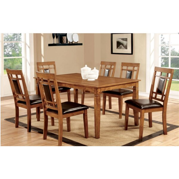 Yerger 7 Piece Dining Set by Winston Porter
