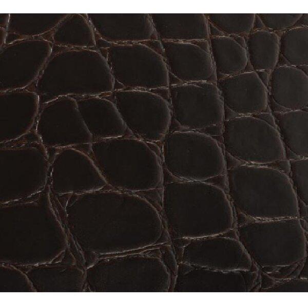 Rainforest 7-5/8 Cork Flooring in Jumbo Croc Merlot by EcoDomo