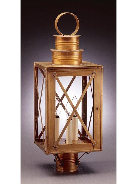 Suffolk Chimney Can Top X-Bars 1-Light Lantern Head by Northeast Lantern