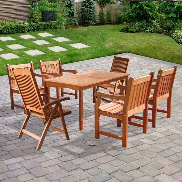 Ehlert 7 Piece Dining Set by Darby Home Co