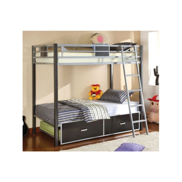Mirfield Twin over Twin Bunk Bed by Harriet Bee