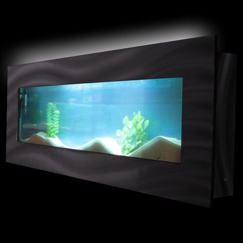 Aussie 7.5 Gallon Wall Mounted Aquarium Tank by Vandue Corporation