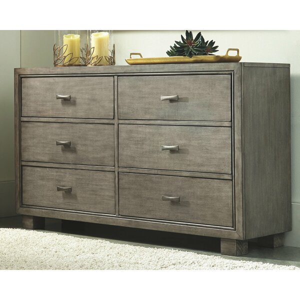 Bargain Westwood 6 Drawer Double Dresser By Winston Porter Discount