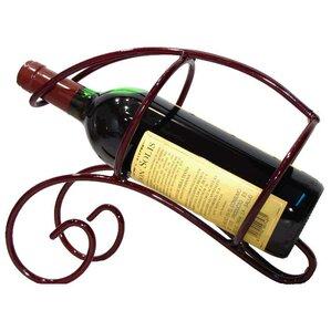 French Vineyard 1 Bottle Tabletop Wine Rack by Metrotex Designs