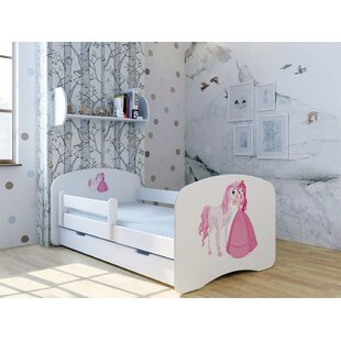 princess bed with mattress and drawer - Princess Bed