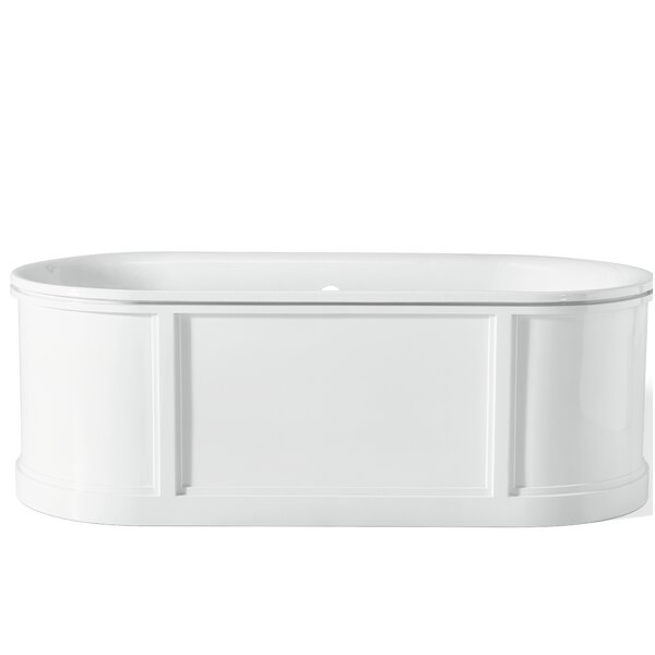 69.88 x 31.13 Soaking Bathtub by Cheviot Products