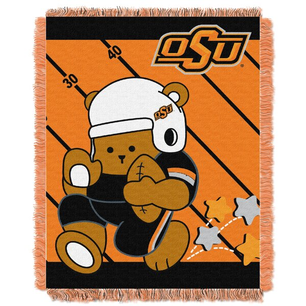 Collegiate Oklahoma State Baby Throw by Northwest Co.