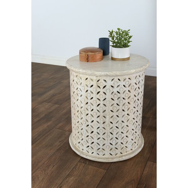 Pancras End Table by Gracie Oaks