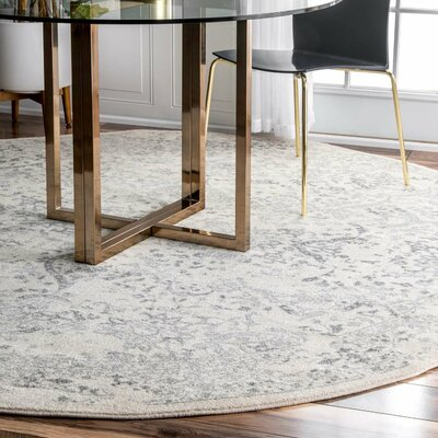 Ivory Amp Cream Round Area Rugs You Ll Love In 2019 Wayfair