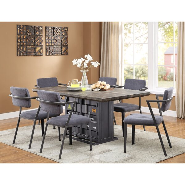 Medau 7 Piece Dining Set by Breakwater Bay Breakwater Bay