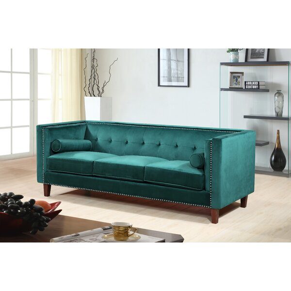 Online Shopping Discount Kittleson Classic Nailhead Chesterfield Sofa by Everly Quinn by Everly Quinn