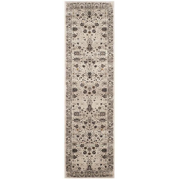 Zennia Creme Area Rug by Bungalow Rose