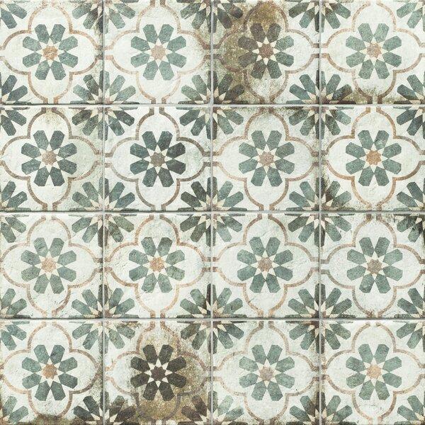 Relic Décor 8.75 x 8.75 Porcelain Field Tile in Florence by EliteTile