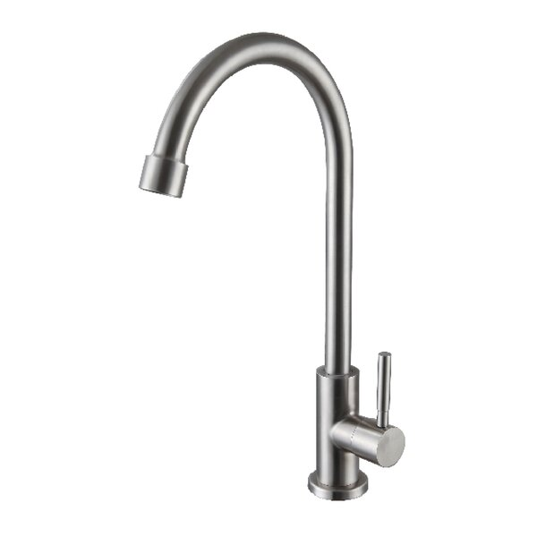 Cold Water Tap Single Handle Kitchen Faucet by Ztrends LLC