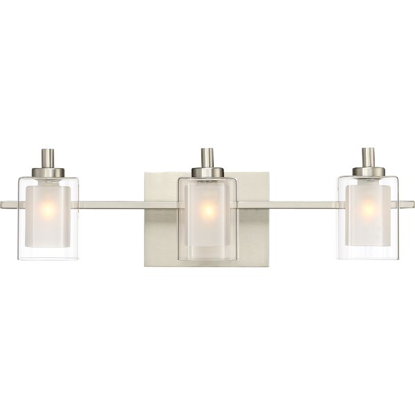 Aldrich 3-Light Vanity light by Wade Logan