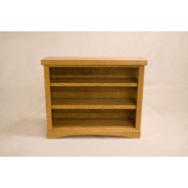 Curlee 2 Shelf Traditional Standard Bookcase by Darby Home Co