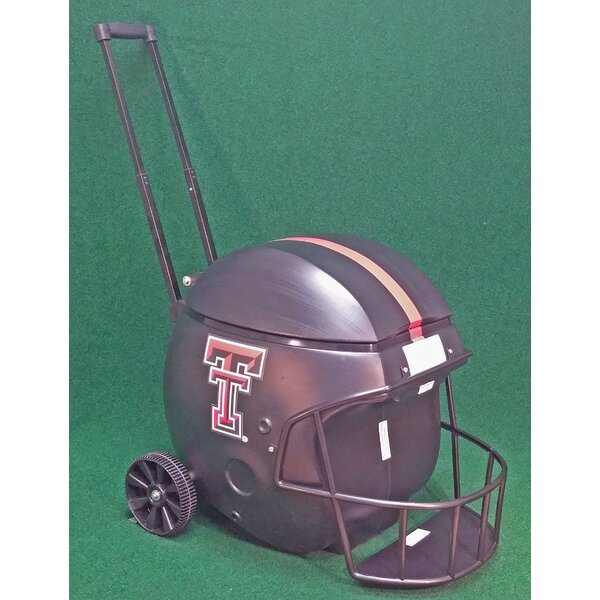 40 Qt. Texas Tech Football Rolling Cooler (Set of 2) by Coolr Coolrz