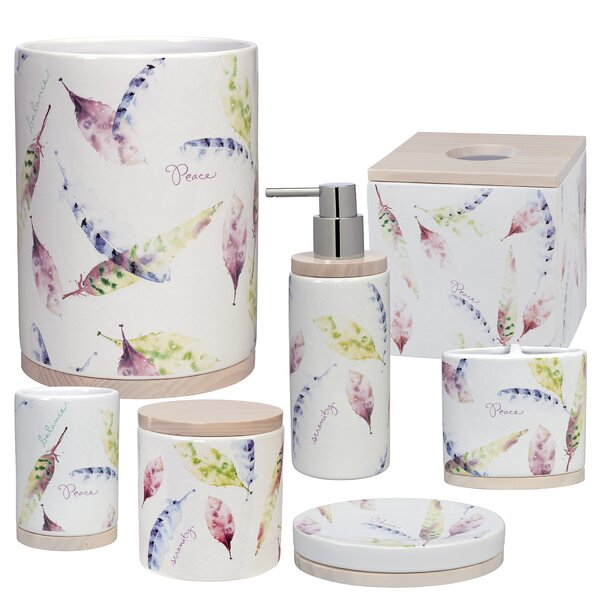 Cheverny 7 Piece Bathroom Accessory Set by August Grove