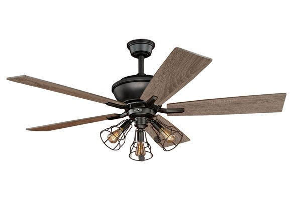 52 Clybourn 5 Blade Ceiling Fan by Vaxcel