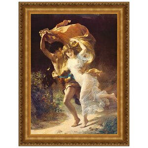 The Storm by Pierre-Auguste Cot Framed Painting Print by Design Toscano