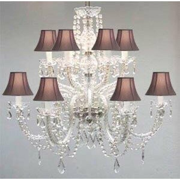 Juan 12-Light Shaded Chandelier by House of Hampton