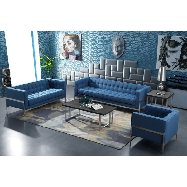 Hults Contemporary Configurable Living Room Set by Orren Ellis