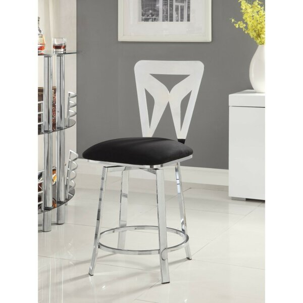 Shirk Counter Height Upholstered Dining Chair (Set of 2) by Orren Ellis