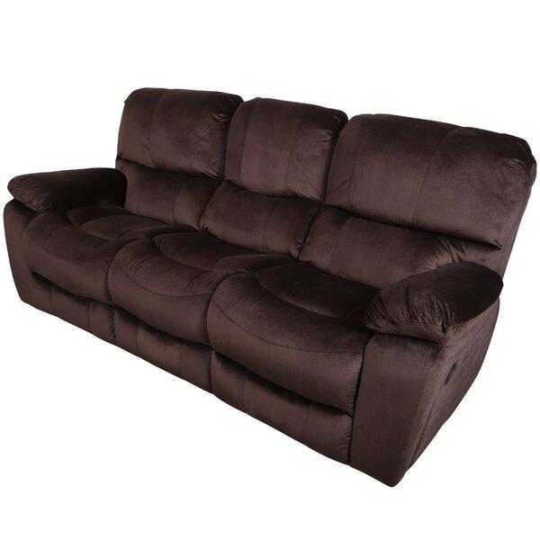 Rashida 3 Seats Reclining Sofa by Red Barrel Studio