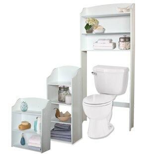 3 Piece Bathroom Storage Set