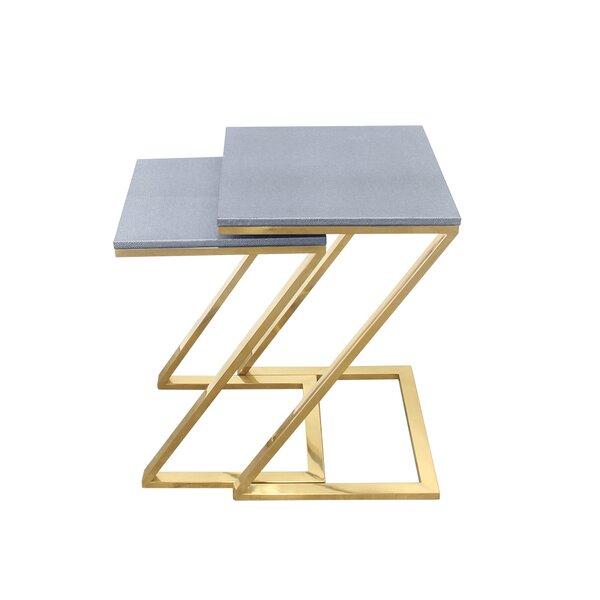Rebekah 2 Piece Nesting Tables By Mercer41