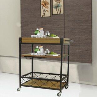 Booth Kitchen Mobile Serving Bar Cart