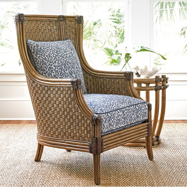 Twin Palms Wingback Chair by Tommy Bahama Home