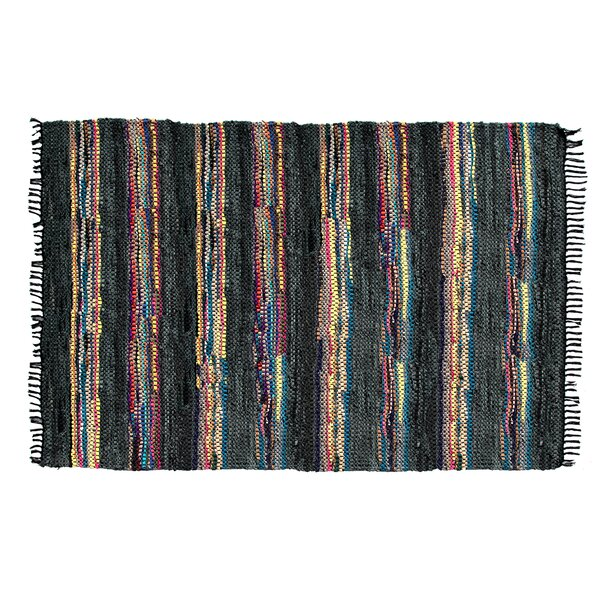 Handmade Broadway Black Area Rug by Ess Ess Exports