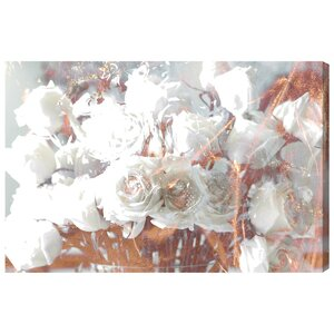 'Rose Gold Feast' Graphic Art on Wrapped Canvas by Willa Arlo Interiors