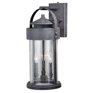 Online Reviews Colwyn 3-Light Outdoor Wall Lantern By Gracie Oaks