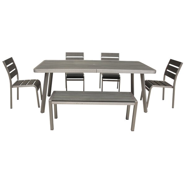 Galicia Patel 6 Piece Dining Set by Brayden Studio
