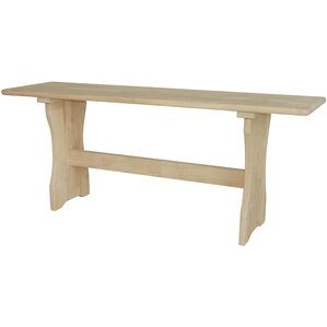 Trestle Wood Bench by International Concepts