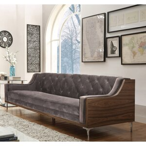 Clark Velvet sofa by Chic Home
