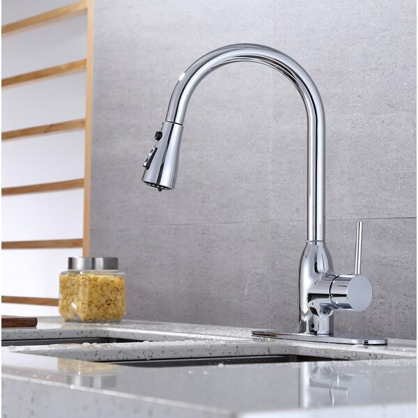 Pull Down Single Handle Kitchen Faucet by RunFine Group