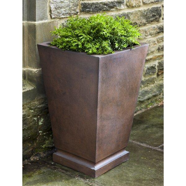 Beatris Fiberglass Clay Composite Pot Planter by Darby Home Co