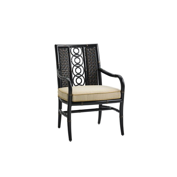 Marimba Patio Dining Chair with Cushion by Tommy B